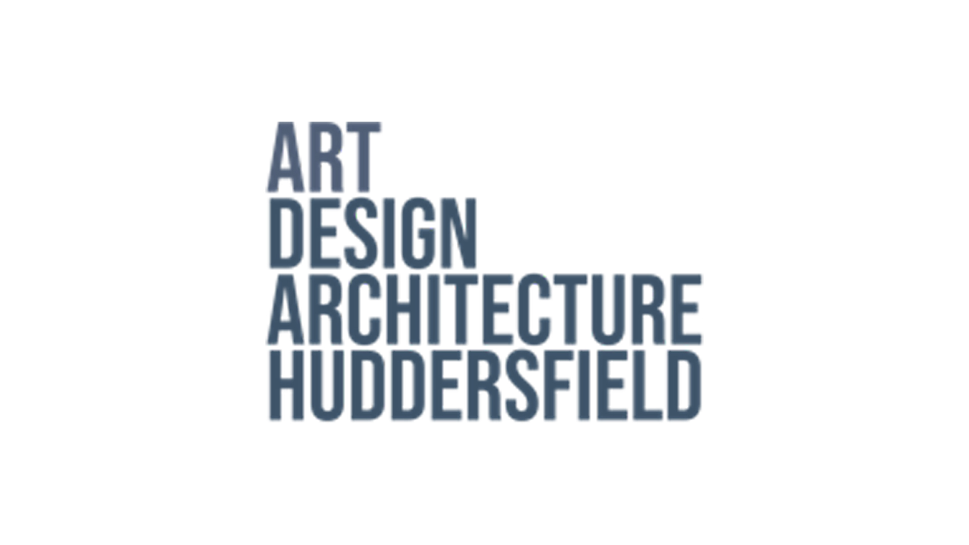 A logo for the the School of Art Design and Architecture (ADA) of huddersfield University
